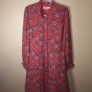 Loft shirt dress NWT